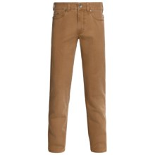Gardeur Nevio Pants - Washed Cotton Twill (For Men) in Tan - Closeouts