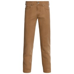 Gardeur Nevio Pants - Washed Cotton Twill (For Men) in Red