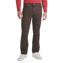 Gardeur Nevio Stretch Bedford Cord Pants - 5 Pocket, Comfort Waistband (For Men) in Brown - Closeouts