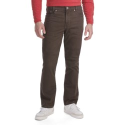 Gardeur Nevio Stretch Bedford Cord Pants - 5 Pocket, Comfort Waistband (For Men) in Brown