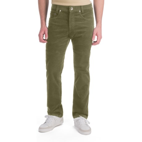 Gardeur Nigel Baby Corduroy Pants - 5 Pocket (For Men) in Olive