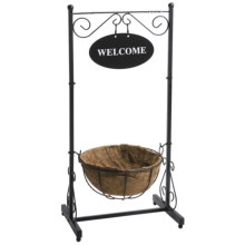 "Gardman ""Blacksmith"" Welcome Planter in See Photo - Closeouts"