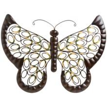 "Gardman Decorative Metal Wall Art - 20x16"" in Butterfly - Closeouts"