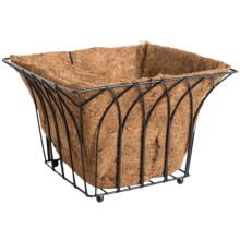 "Gardman Gothic Square Planter - 14"" in See Photo - Closeouts"