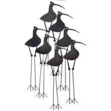 "Gardman Shore Birds Metal Wall Art - 37"" in See Photo - Closeouts"