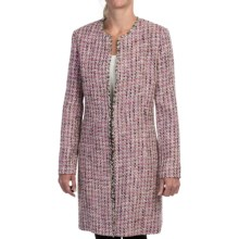 Garfield & Marks Coco Duster - Wexford Tweed (For Women) in Pink Multi - Closeouts