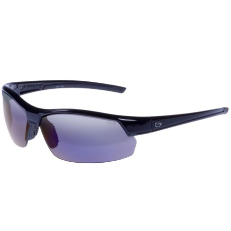 Gargoyles Breakaway Sunglasses Polarized Mirrored Lenses