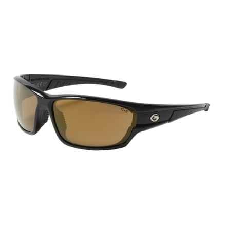 Gargoyles Havoc Sunglasses - Polarized Mirrored Lenses in Black/Brown/Bronze - Closeouts