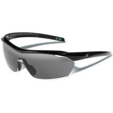 Gargoyles Pursuit Sunglasses - Mirrored Lenses in Black/Smoke/Silver - Closeouts