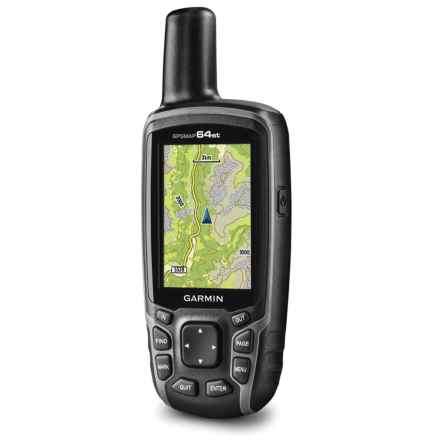 Garmin GPSMAP® 64st Handheld GPS - 2nds, Factory Refurbished in See Photo - 2nds