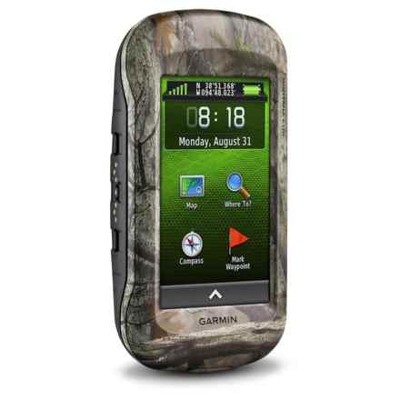 Garmin Montana 610T Camo GPS in Camo - 2nds