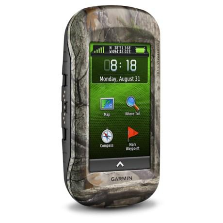 Garmin Montana 610T Camo GPS - Refurbished in Camo