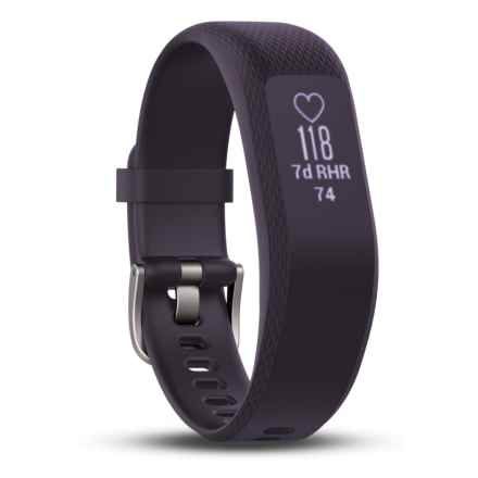Garmin Vivosmart 3 Smart Activity Tracker - 2nds, Factory Refurbished in Purple - 2nds