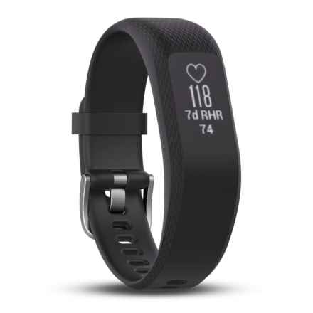 Garmin Vivosmart 3 Smart Activity Tracker - 2nds, Long, Factory Refurbished in Black - 2nds
