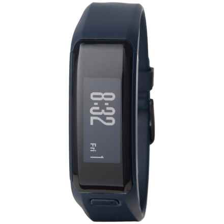 Garmin Vivosmart Heart-Rate Activity Tracker -  2nds, Factory Refurbished in Blue - Closeouts