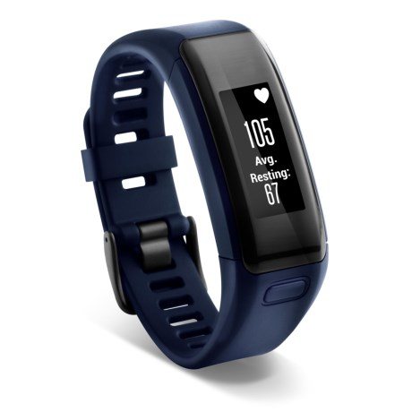 Garmin Vivosmart HR Smart Activity Tracker - Refurbished in Blue