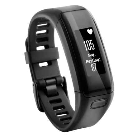 Garmin Vivosmart HR Smart Activity Tracker XL - 2nds, Factory Refurbished in Black - 2nds