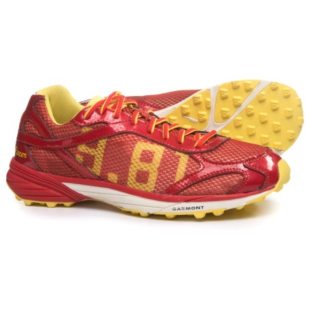 Garmont 9.81 Racer Trail Running Shoes (For Men and Women) in Red