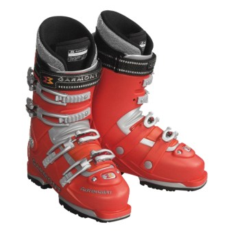 Garmont Adrenalin AT Ski Boots with Thermal-Fit Liners (For Men) in Orange