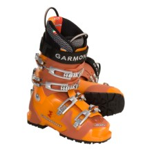 Garmont Argon AT Ski Boots - G-Fit Liners (For Men) in Flash/Flame - Closeouts