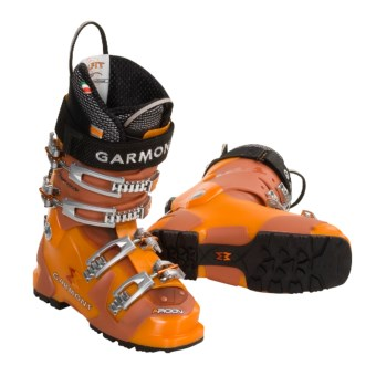 Garmont Argon AT Ski Boots - G-Fit Liners (For Women) in Flash/Flame