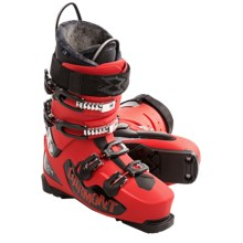 Garmont Delirium Alpine Ski Boots - EZ Fit Liners (For Men) in Red - Closeouts