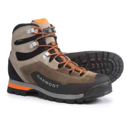 Garmont Dragontail Hike Gore-Tex® Hiking Shoes - Waterproof, Suede (For Men) in Brown/Orange - Closeouts