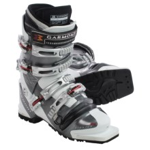 Garmont Elektra Mg G-Fit Telemark Ski Boots (For Women) in White/Grey - Closeouts