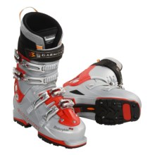 Garmont Endorphin AT Ski Boots - G-Fit 3 Liners (For Men) in Red / Silver - Closeouts