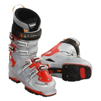 Garmont Endorphin AT Ski Boots - G-Fit 3 Liners (For Men) in Red / Silver