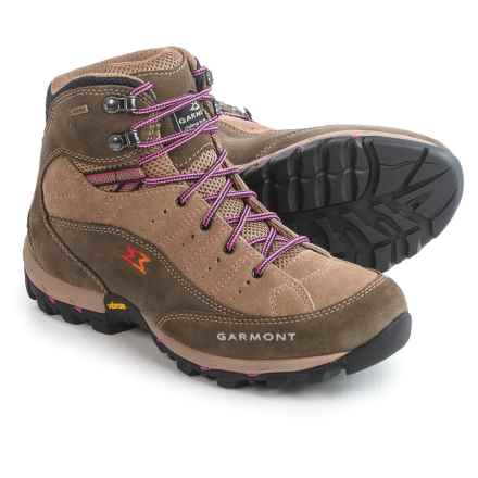 Garmont Fanes Gore-Tex® Hiking Boots - Waterproof, Suede (For Women) in Caribou/Sand - Closeouts