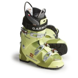 Garmont Helium AT Ski Boots - Dynafit Compatible, G-Fit Liner (For Women) in Spring Green