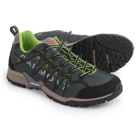 Garmont Hurricane Hiking Shoes (For Men) in Anthracite/Green - Closeouts