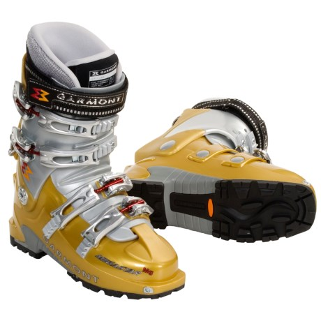 Garmont Mega-Star AT Ski Boots - Dynafit Compatible (For Women) in Desert/Silver