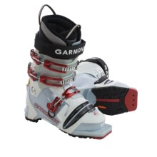 Garmont Minerva G-Fit Telemark Ski Boots (For Women) in Blue Pearl/White - Closeouts