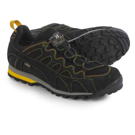 Garmont Mystic Flow Gore-Tex® Surround Hiking Shoes - Waterproof (For Men) in Black/Yellow - Closeouts