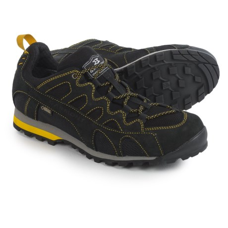Garmont Mystic Flow Gore-Tex® Surround Hiking Shoes - Waterproof (For Men) in Black/Yellow