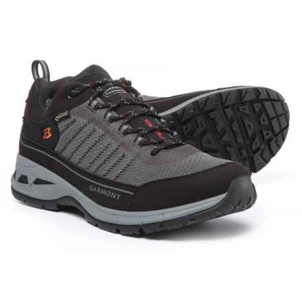 Garmont Nagevi Gore-Tex® Hiking Shoes - Waterproof (For Men) in Black/Steel Grey - Closeouts