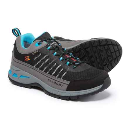 Garmont Nagevi Gore-Tex® Hiking Shoes - Waterproof (For Women) in Black/Turquoise - Closeouts