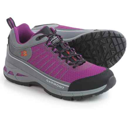 Garmont Nagevi Vented Hiking Shoes (For Women) in Steel Rasberry - Closeouts