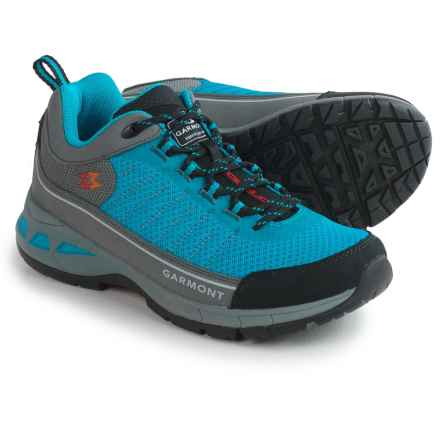 Garmont Nagevi Vented Hiking Shoes (For Women) in Steel/Turquoise - Closeouts