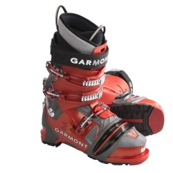 Garmont Prophet Telemark Ski Boots - NTN (For Men) in Orange/Anthracite
