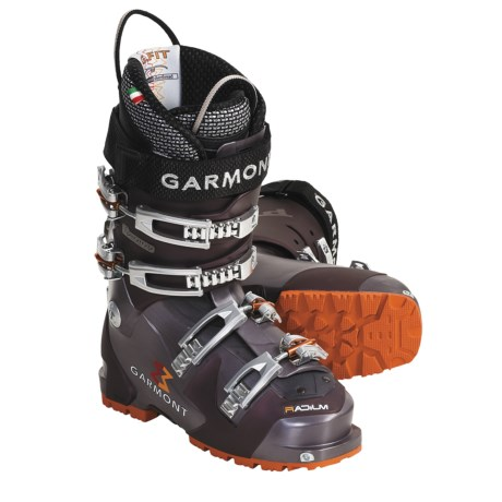 Garmont Radium AT Ski Boots - Dynafit Compatible, G-Fit Liners (For Women) in Aubergine