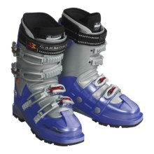 Garmont She-Ride AT Ski Boots with G-Fit Liners (For Women) in Bright Blue - Closeouts