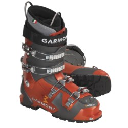 Garmont Shogun AT Ski Boots - Dynafit Compatible, G-Fit Liners (For Men) in Orange/Anthracite