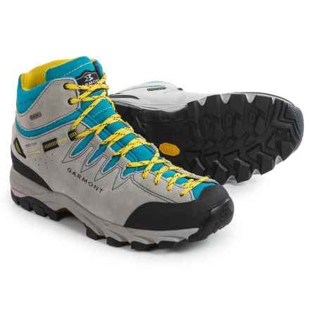 Garmont Sticky Rock Gore-Tex® Mid Hiking Boots - Waterproof (For Women) in White Turquoise - Closeouts