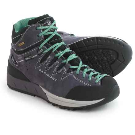 Garmont Sticky Rock Gore-Tex® Mid Hiking Boots - Waterproof, Suede (For Women) in Rabbit Bearly Green - Closeouts
