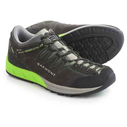 Garmont Sticky Rock Hiking Shoes - Suede (For Men) in Castelrock/Spring - Closeouts