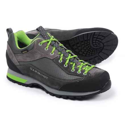 Garmont Sticky Weekend Gore-Tex® Hiking Shoes - Waterproof, Suede (For Men) in Grey/Anthracite - Closeouts