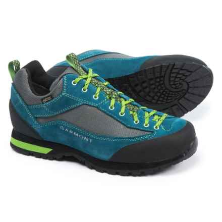 Garmont Sticky Weekend Gore-Tex® Hiking Shoes - Waterproof, Suede (For Men) in Night Blue/Green - Closeouts